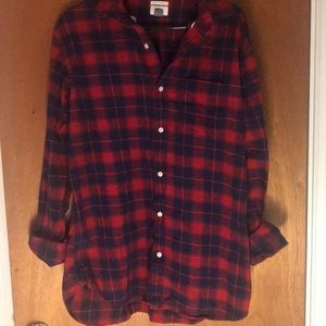 Men's long sleeve flannel